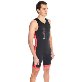 Dare2Tri Coldmax Combinaison de triathlon Homme, black/red